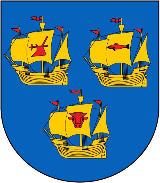 Uphusum Wappen