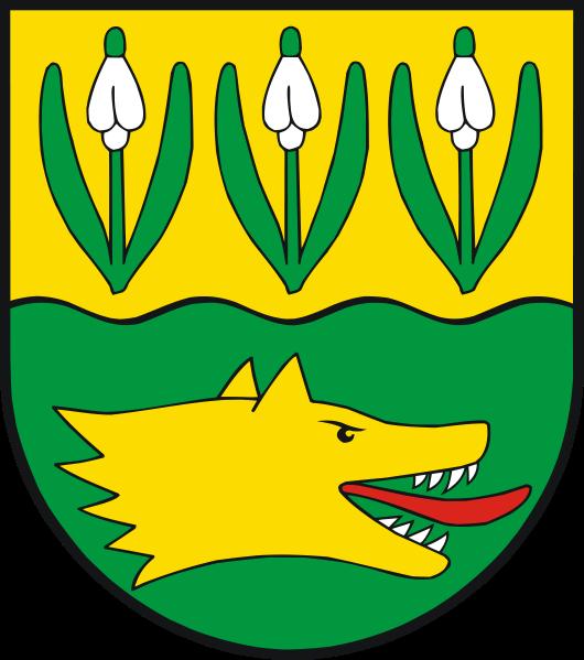 Woggersin Wappen